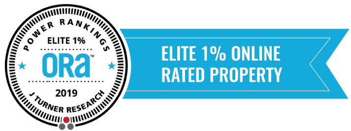J Turner Research Power Rankings -Elite 1% Online Rated Property