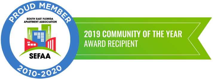 South East Florida Apartment Association -2019 Community of the Year